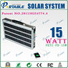 15W Mini Solar System With Mobile Charger