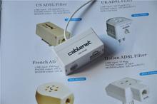 Splitter Broadband MicroFilter DSL,ADSL Filter,plastic used mobile phones