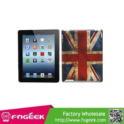 Hot Selling Rubberized Hard Back Case for iPad 2 3 4