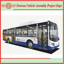 Clean High Efficiency Pure Electric Powered City Mini Bus