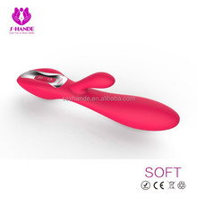 Waterproof Wall Bangers Dual Stimulators,Waterproof Vibrating Penis, private massager purple and pink