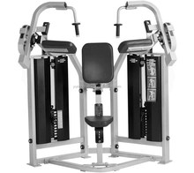 Commercial pin loaded home gym /Hammer Strength MTS Iso-Lateral Triceps Extension