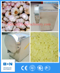 Automatic Electric Garlic Slicing Machine garlic ginger cutting machine
