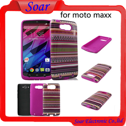 2015 new and hot custom image design hard cell phone case cover for Motorola moto Maxx/xt1225