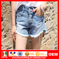 2015 Hot Sexy Denim Jeans Shorts for Women Ladies Garment Casual Denim Shorts Plus Size