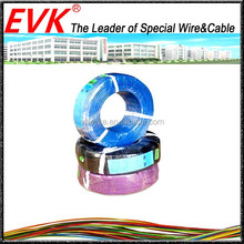 180 degree heat resistance silicone rubber coat / insulation wire cable