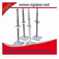 adjustable screw base jack for scaffolding