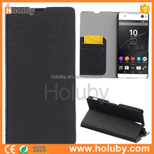 best selling PU flip leather cell phone cases for Sony Xperia C5 Ultra E5506 E5533 , E5563 case