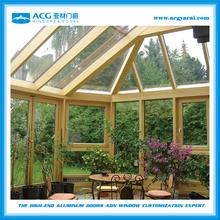 HOT SALES prefabricated aluminium glass house,aluminum winter garden