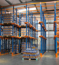Drive In Rack system for Industrial Warehouse Storage