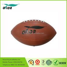Sale inflatable custom american leather footballs