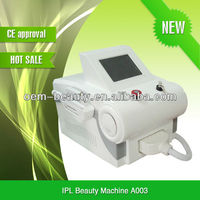 portable IPL epilator system machine with ipl filters and High quality lamp A003
