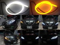 Used Car Parts 16Cm/30Cm/45Cm/60Cm/85Cm led neon flexible tube led auto headlights
