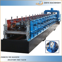 c z purlin cold making machine/steel sheets U purlin roofing colf forming machine