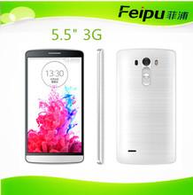 dual sim wifi mobile phone 5.5inch MTK 5MP camera 3G smart mobile phone