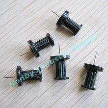 DIY Photography Essential Plastic Head Black Color Push Pin