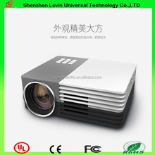 360 Rotating Support Image Scaling With MP4/RMVB/AVI/RM/MKV and so on Vedio File Supporting Mini Portable Mobile Projector