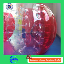 good selling inflatable body zorb ball for people