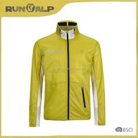 Men's outdoor breathable green sport jacket