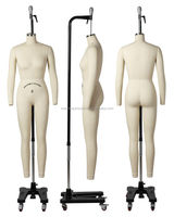 full body tailoring mannequin with arms for tailors dummy