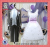 Decoration Wedding ballons Bride and Groom Dress Balloons foil globos Cartoon Birthday hen Party baloon classic toys