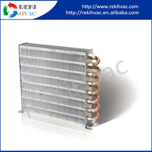 Copper Tube Fin Condenser Evaporator with Case/with Motor/with Fan
