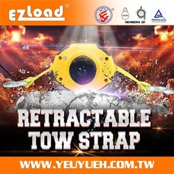 "[EZ LOAD] 2"" Elastic Racing Car Snatch Strap for Towing Equipment"