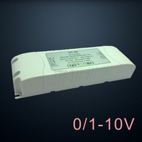 no loads limitation 0-10v dimmable led strip driver 60w 24v constant voltage