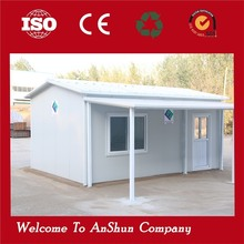 China Supplier Luxury Modern Design Low Cost Steel Structure House modular prefab house with low cost and fast instal