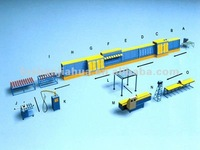 Insulating glass production line flow chart