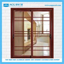 aluminum Glass door thickness 1.2-2.5mm,Best glass door price,Sliding glass door