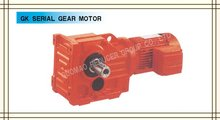 Compact High Output Torque gears for meat grinder of GK Series