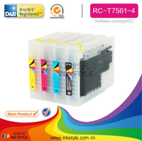 T7561 for Epson ink cartridge with reset chip workforce Pro WF-8010DW empty cartridge
