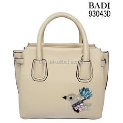 New collection ladies bag desigual bolsas cute micro colorful beads bird tote bag for school girl