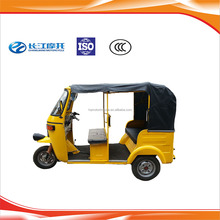 Wholesale gasoline three wheel cabin Eco-friendly rickshaw with factory price