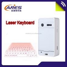 Shenzhen Supplier high quality USB Bluetooth Laser Virtual Keyboard with mouse speaker foe smart phone laptop