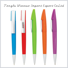Latest design superior quality writing pen led light ballpoint pen