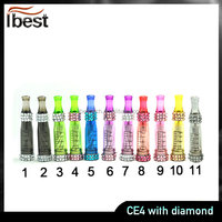 IBEST Wholesale High Quality E GO T CE4 Electronic Cigarette CE4 With Diamond
