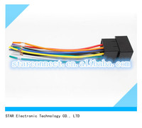 auto cd/dvd player wire harness for vw