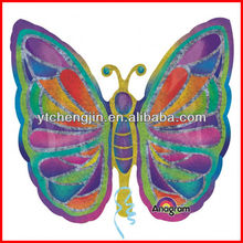 butterfly shaped aluminum foil helium balloons