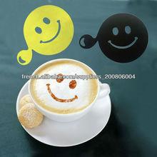 Estêncil plástico do café, decoração do bolo