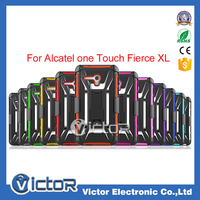 USA hot !T hoslter 3 in 1 kickstand Combo Mobile Phone Case for Alcatel one touch fierce XL