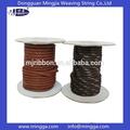 100% de algodón, cordón de algodón encerado, ronda de cuerda