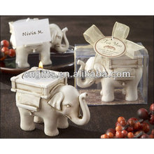 Wedding gift party favor Lucky Elephant Tea Light Candle Holder