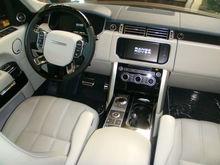 2012 Range Rover SC Fullsize HSE Black over Ivory