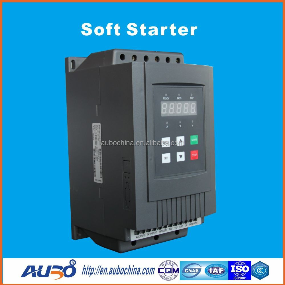 75a 37kw china market of electronic soft starter for ac Ac motor soft start