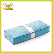 Foldable Bamboo Charcoal Fibre Storage Bag, Quilt Sweater Blanket Anti-bacterial Clothes Under Bed Organizer Box