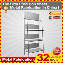 2014 new professional customized Metal Fabrication Punching metal frame computer desk