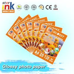 Wholesale high quality inkjet Glossy photo paper