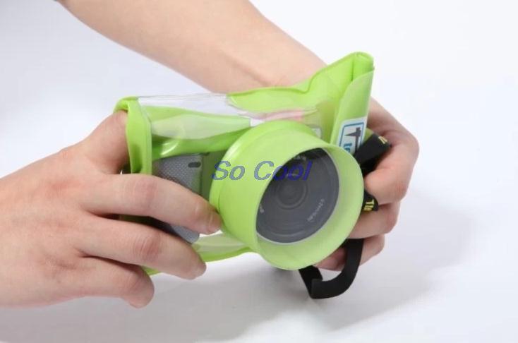 תיק עמיד למים נשלף עדשת המצלמה מקרה מיקרו מצלמה דיגיטלית תיבת מצלמה עמיד למים Case For Nikon Canon Sony